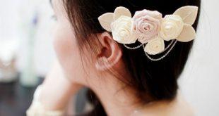 Bí quyết chọn hoa cài đầu thích hợp cho cô dâu bạn nên biết