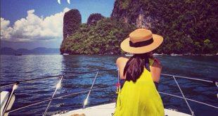 Mũ thời trang phụ kiện cần thiết cho chuyến du lịch biển