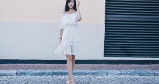 Phong cách thời trang quyến rũ hơn với váy trắng tinh khôi
