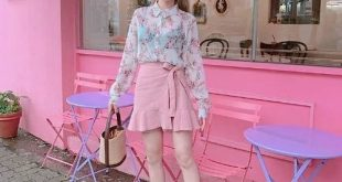 Xu hướng diện trang phục màu hồng nữ tính cho các nàng hè này